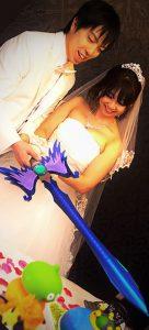 勇者の剣でケーキカット!結婚式演出でコス婚はいかがですか?